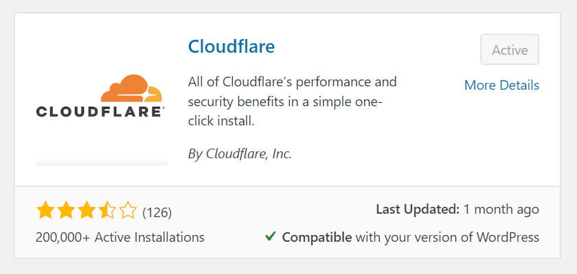cloudflare plugin install and activate