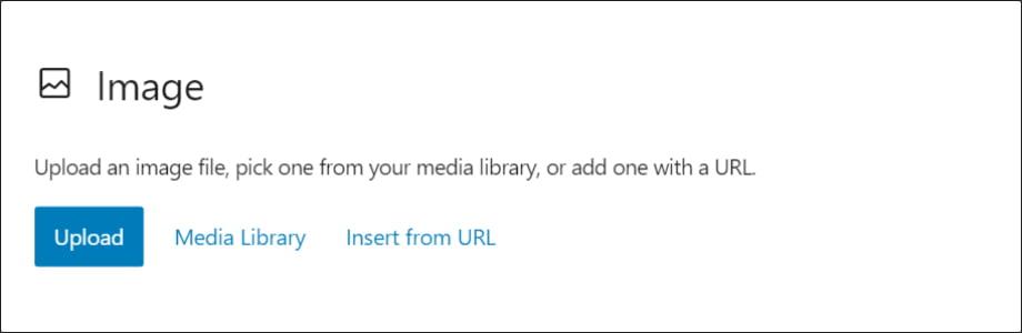 Image Block WordPress